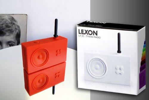 LEXON レクソン ラジオ FM/AM ラバーラジオ LA42グリーン11
