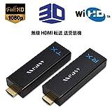 MEASY W2H NANO ワイヤレスHDMIトランスミッターとレシーバーキット60GHz帯ワイヤレスHDMIエクステンダー最大30M / 100FTサポート1080P 3Dビデオ