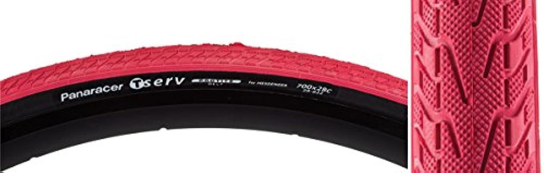 Panaracer T-Serv ProTite Folding Red Bike Tire 700 x 28c Road Fixed Racing by panaracer