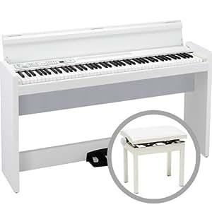 KORG LP-380 WH 【高低自在椅子セット!】コルグ 電子ピアノ ホワイト (LP380)