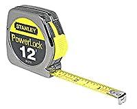 ST33212 - CRL 12フィート Stanley Powerlock® 幅1/2インチ テープルール