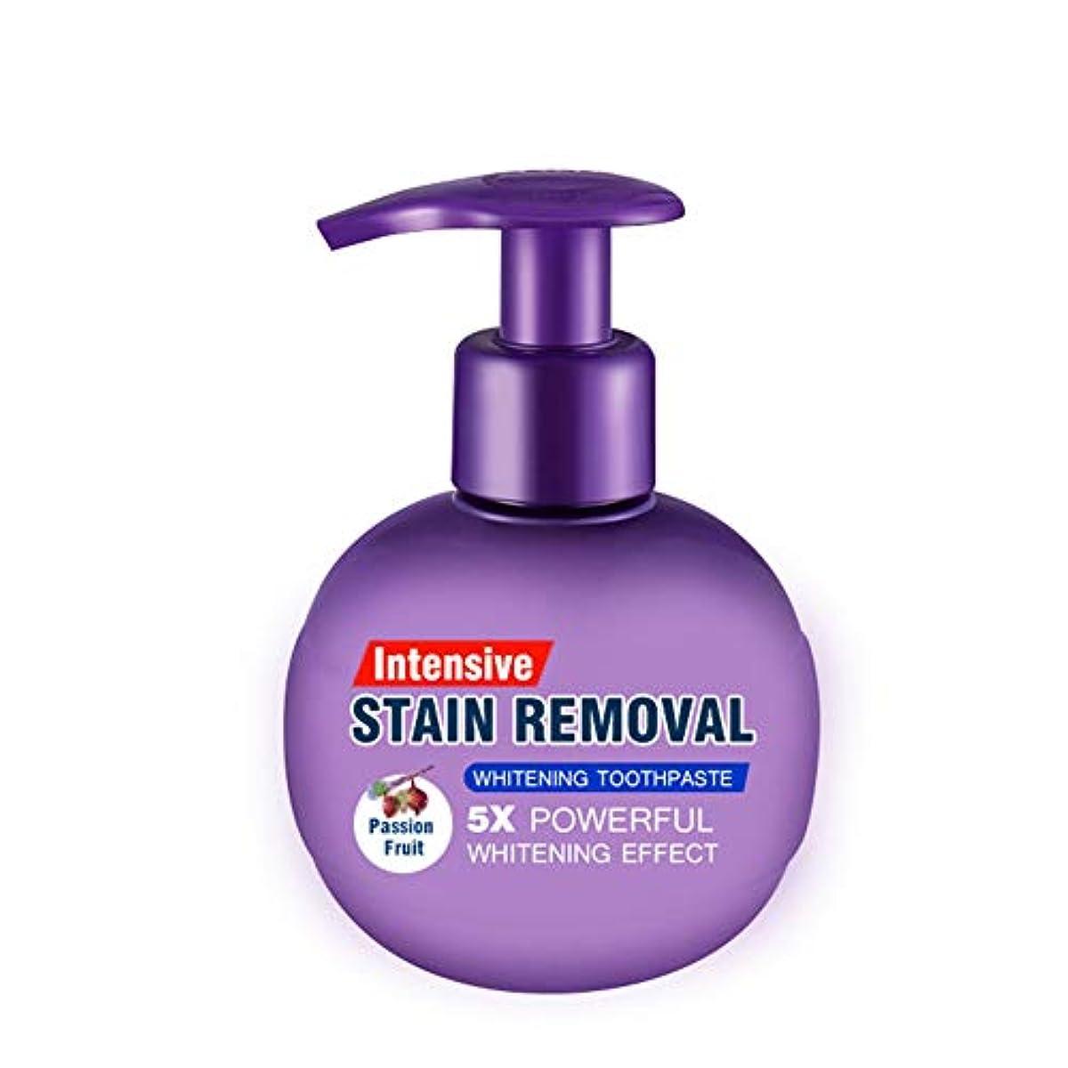 余計な床を掃除するパトワTenflyer歯磨きのための歯磨き粉の抗の出血ガムを白くするの集中的な汚れの除去剤