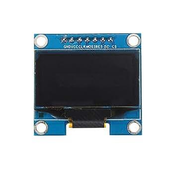 """HiLetgo® 1.3"""" SPI 128x64 OLED LCD ディスプレイ 1.3インチ 液晶ディスプレイモジュール AVR PIC STM32 Arduinoに対応 [並行輸入品]"""