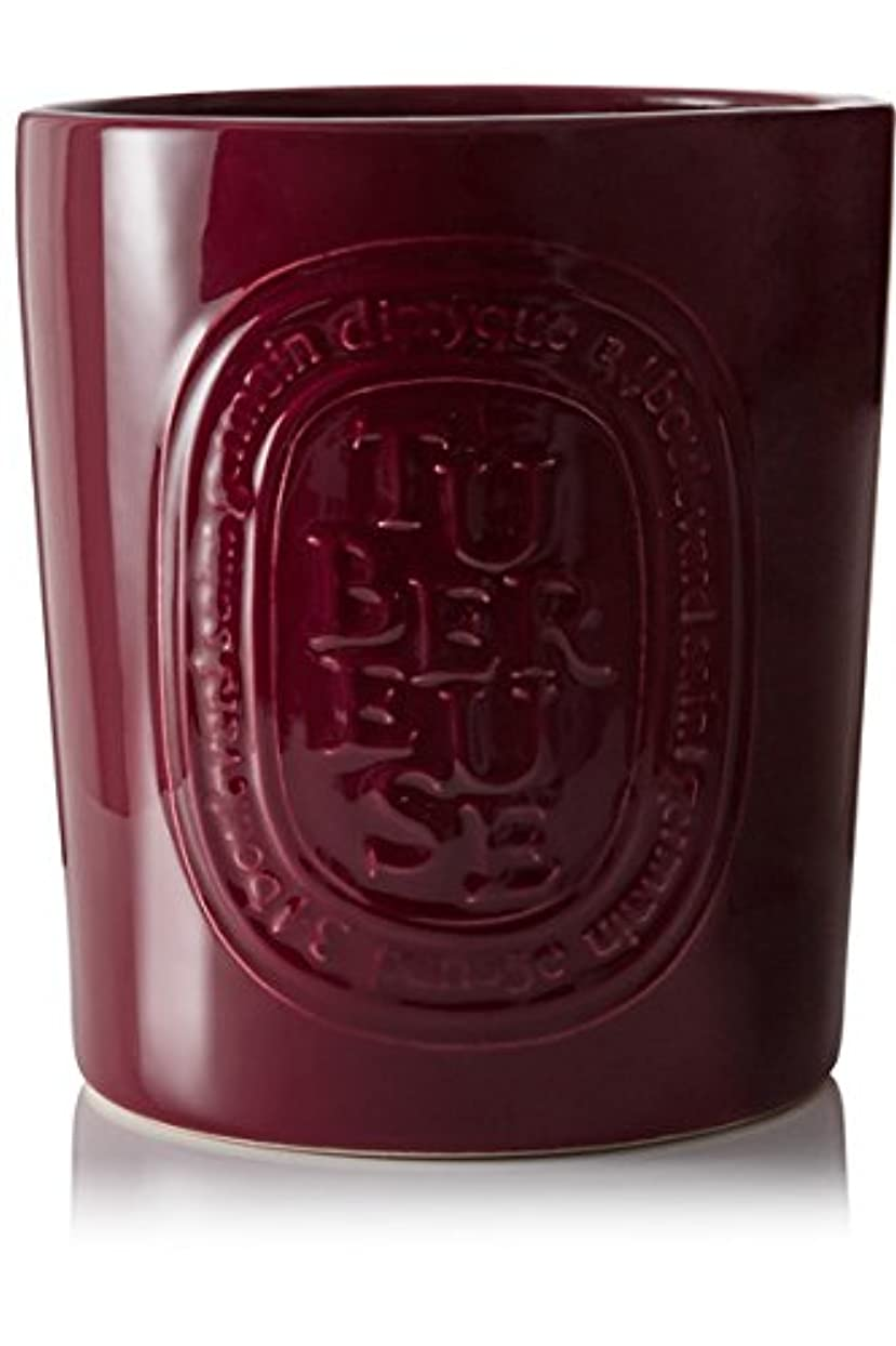 盲目具体的に困惑するDiptyque Tubéreuse Large Candleインドア&アウトドアエディション1500 g