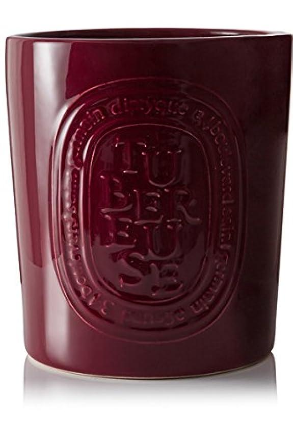 くさび飲み込むつかまえるDiptyque Tubéreuse Large Candleインドア&アウトドアエディション1500 g