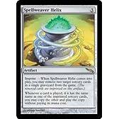 マジック:ザ・ギャザリング 【英語】 【ミラディン】 呪文織りのらせん/Spellweaver Helix
