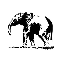 (22cm x 28cm) - Elephant Stencil Template - Reusable Stencil with Multiple Sizes Available