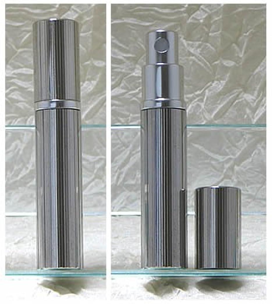 エーカーオフセット同一のパースメタルアトマイザーハンドワーク 縦縞ダイヤカット ロジウム