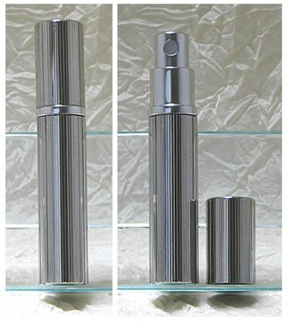 パースメタルアトマイザーハンドワーク 縦縞ダイヤカット ロジウム