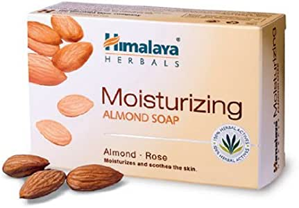 Himalaya Moisturizing Almond Soap (ヒマラヤ アーモンド石鹸)75g 3個セット [並行輸入品]