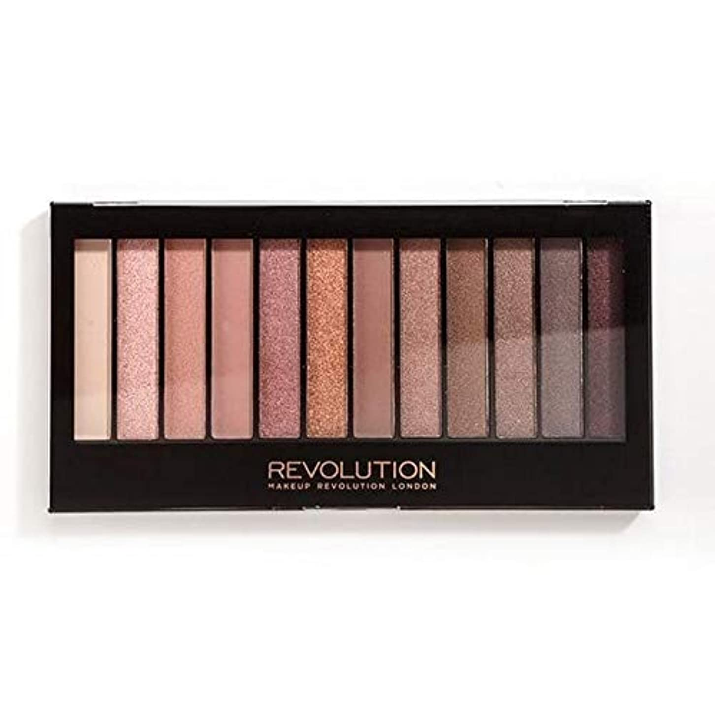 私定刻ファッション[Revolution ] 革命の償還象徴的な3アイシャドウパレット - Revolution Redemption Iconic 3 Eye Shadow Palette [並行輸入品]