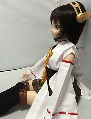 doll SK 艦これ 艦隊これくしょん 金剛型風衣装 ドール用衣装 コス コスプレ 服 DD SD 1/3 サイズなど