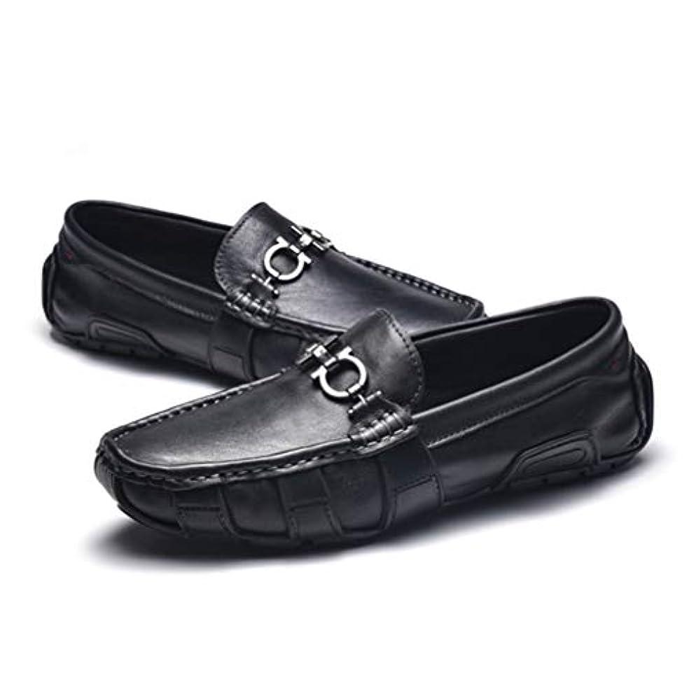 段階究極の盲信メンズ 革靴 ドライビングシューズ ローカット ローファー ラウンドトゥ スリッポン モカシン ビジネスシューズ フォーマル ビット カジュアルシューズ メンズ スニーカー 結婚式 冠婚葬祭 短靴 黒 [ムリョ]