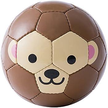 sfida(スフィーダ) 動物 ミニボール フットボール ズー FOOTBALL ZOO BSF-ZOO06 サル サッカー 1号球 子供用 幼児用