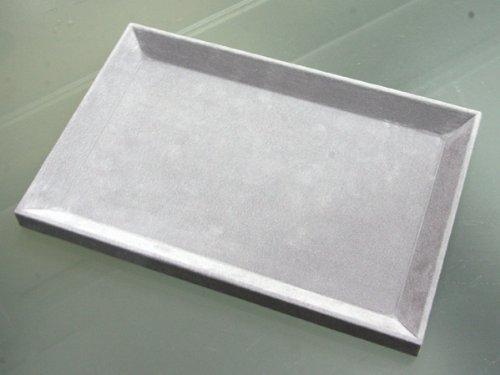 """[해외]""""300 * 200 * 20mm""""스웨이드 화가 보석 트레이 (대)/""""300 * 200 * 20 mm"""" suede style jewelry tray (large)"""
