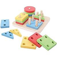 Bigjigs Toys Mon premier trieur de formes (4 formes)
