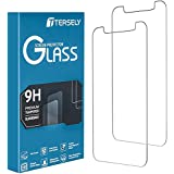 T Tersely [2 Pack] Screen Protector for iPhone 11 Pro Max/iPhone Xs Max, Case Friendly Tempered Glass Screen Protectors Anti-