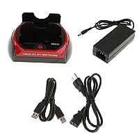 SONONIA HDD ドッキングステーション 2.5 3.5 IDE SATAデュアルベイ USB3.0ハードドライブカードリーダー ハードドライブドッキング