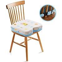 Yihiro 子供用 クッション お食事クッション 高さが変わる 椅子用 3段階 高さ調節 子供食事便利グッズ