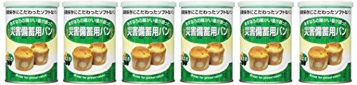 災害備蓄用パン 黒まめ 6缶
