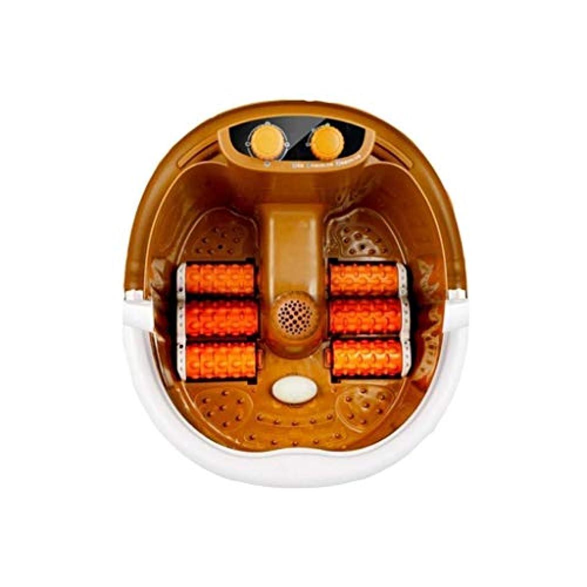 ロケーションシャンパンマナー電気フットマッサージベイスン、フットバスバレル、フットヒーテッドスパ-フットマッサージャー、痛みの緩和/睡眠の促進、ホームオフィスでの使用