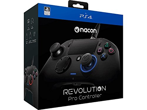 SONY オフィシャルライセンス nacon Revolution プロ コントローラー PlayStation4 【国内正規品/2年保証/日本語版説明書/保証書】
