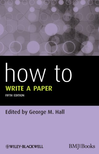 How To Write a Paper (English Edition)