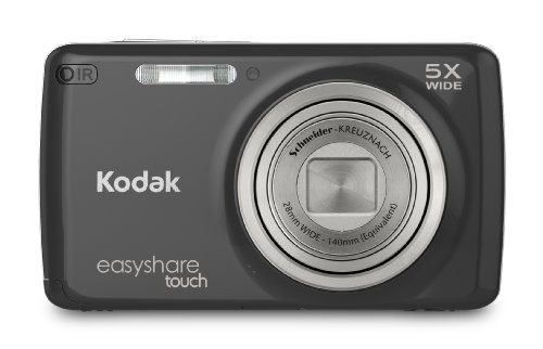 Kodak EasyShare Touch M577 14 MP Digital Camera with 5x Optical Zoom and 3-Inch LCD Touchscreen - Black by Kodak