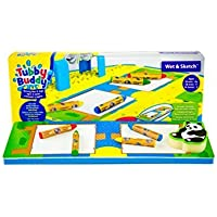 Tubby Table Tubby Buddy's Wet & Sketch Activity Mat + Toys by Tubby Table [並行輸入品]