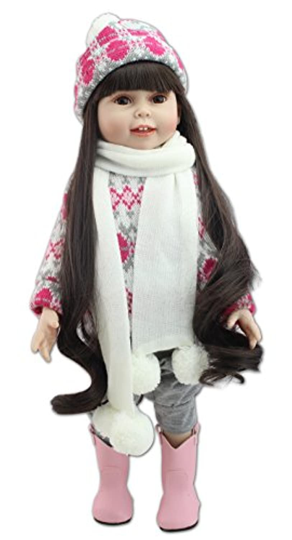 Funny House 45CM ベビードール リボーンドール  お人形 女の子 きせかえ人形 新年プレゼント 誕生日プレゼント