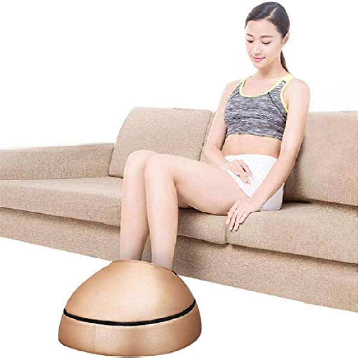 試す感動する伴う電動フットマッサージャー、革ローラーマッサージマッサージャー、赤外線加熱圧力混練マッサージ、ストレス/痛みの緩和、血液循環の促進