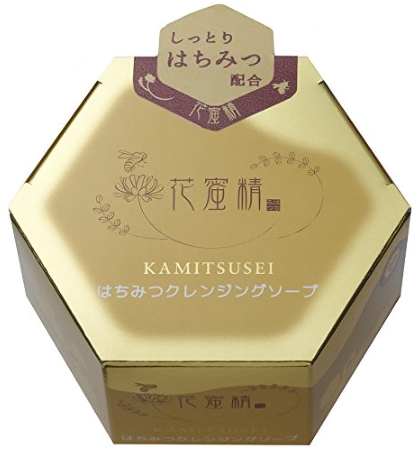半島グリーンバック株式会社花蜜精 はちみつ クレンジングソープ 85g