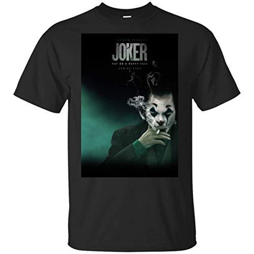 ジョーカー2019ポスターホアキンフェニックス映画TvブラックTシャツ