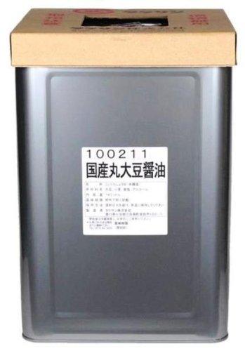 タケサン 国産丸大豆醤油 18L