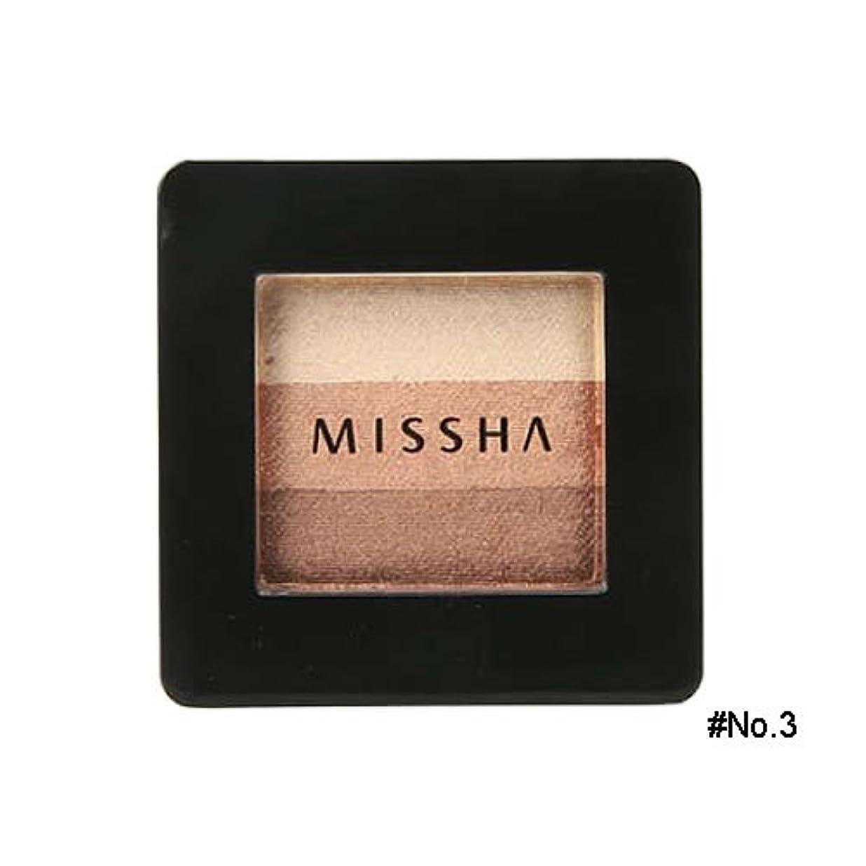 文庫本逸脱広々ミシャ(MISSHA) トリプルシャドウ 2g No.3(モカベージュ) [並行輸入品]