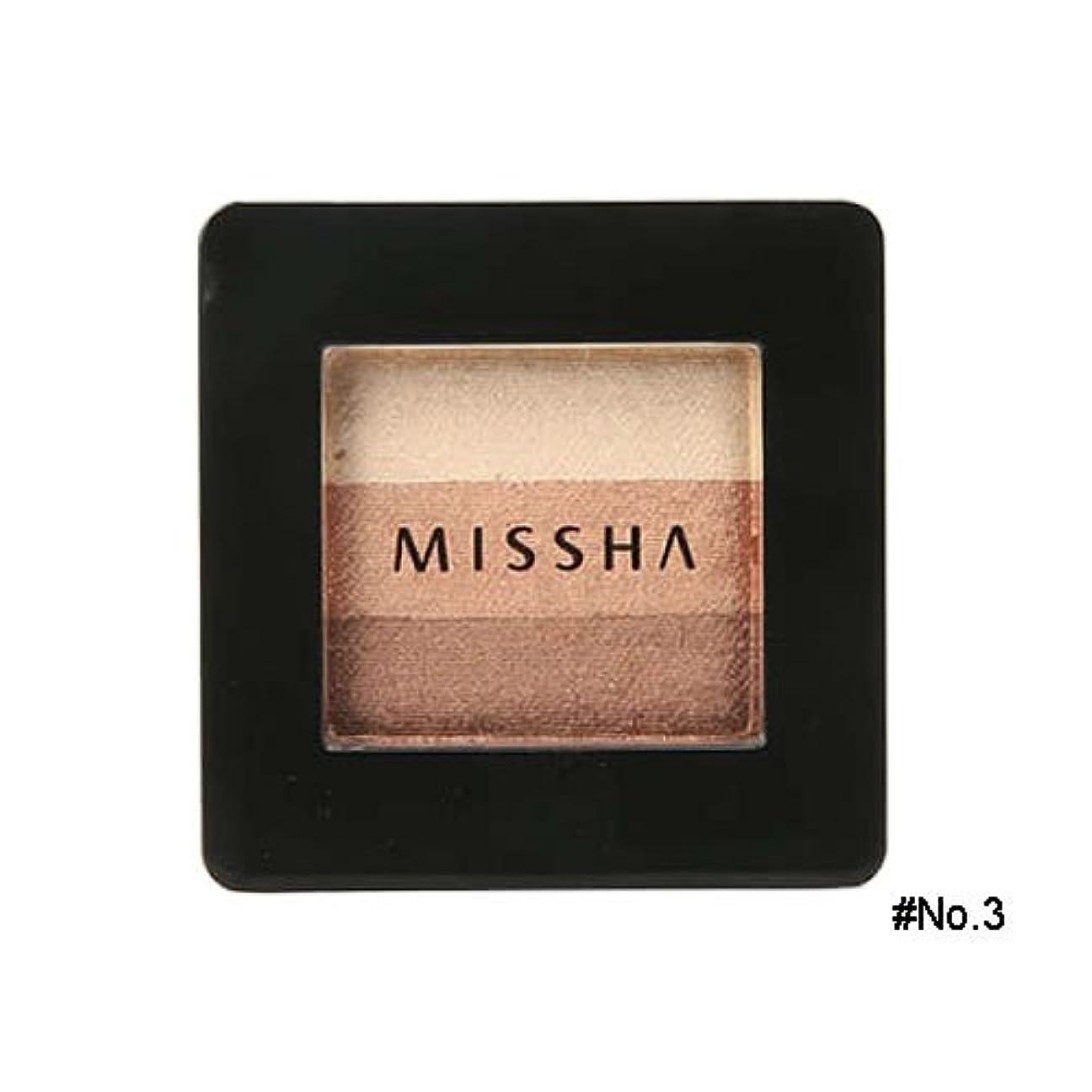 東段落制裁ミシャ(MISSHA) トリプルシャドウ 2g No.3(モカベージュ) [並行輸入品]