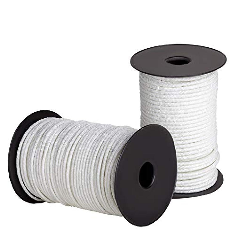 盆地バラ色使用法Ravenox ソリッド編組ナイロンロープ アメリカ製 MILSPECコード すべての持ち上げ 引っ張る 牽引 固定 縛り付けのニーズに 足と直径によって 係留ライン アンカーライン