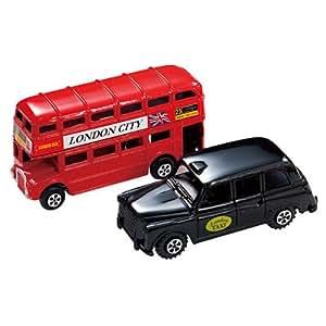 イギリス お土産 ペンシルシャープナーセット ロンドンバス&タクシー