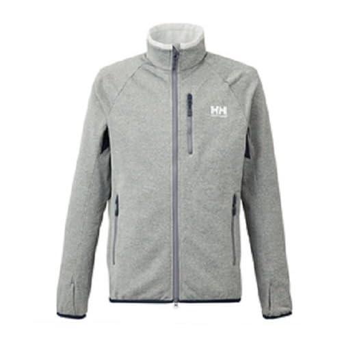 (ヘリーハンセン)HELLY HANSEN Back Fleece Jacket HOE51593 ZM ミックスミディアムグレー M