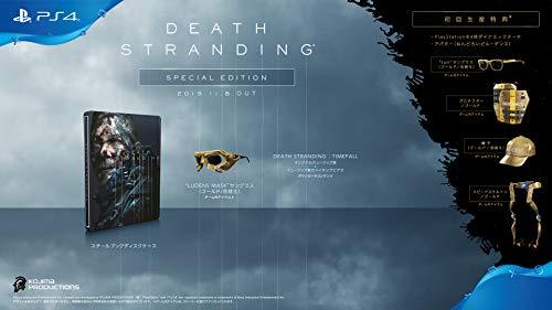 【PS4】DEATH STRANDING スペシャルエディション【早期購入特典】アバター(ねんどろいどルーデンス)/PlayStation4ダイナミックテーマ/ゲーム内アイテム(封入)