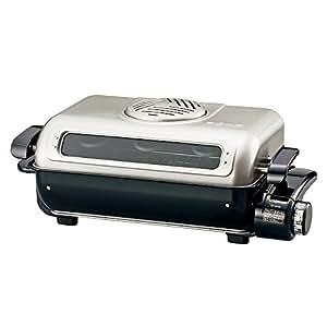 象印 フィッシュロースター 両面焼き 分解洗い&プラチナ触媒フィルター EF-VG40-SA