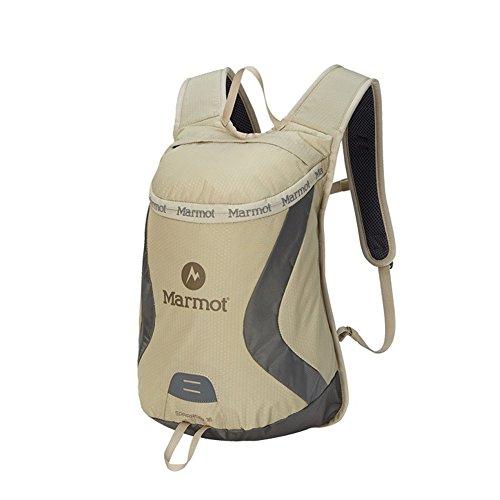 marmo 登山かばん自転車リュックサックコンパクト肩小型リュックサック 15L ベージュ[海外直送品]