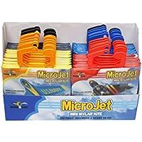 X-Kites MicroKites Aeroplane Assortment of Mylar Mini Kites, 24-Piece PDQ