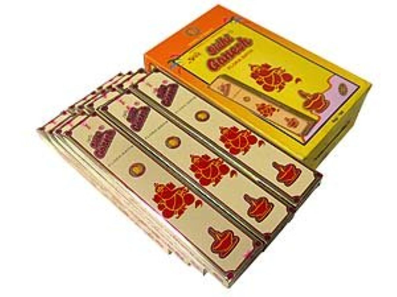 種着飾る乳SREE(スリー) SIDHI GANESH シディガネーシャ香 スティック 12箱セット