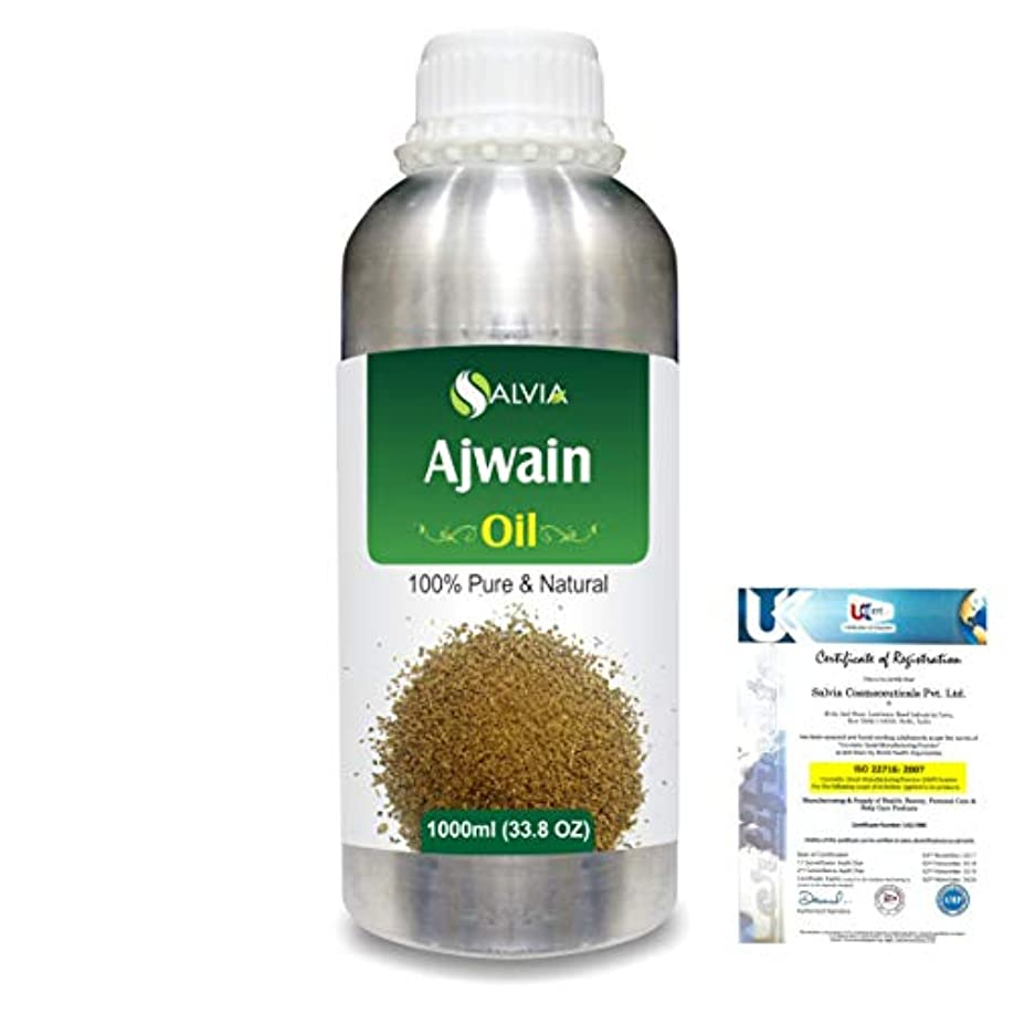 駅まっすぐポテトAjwain(Trachyspermumammi) 100% Natural Pure Essential Oil 1000ml/33.8fl.oz.