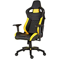 CORSAIR T1 RACE Black&Yellow (2018) ゲーミングチェア FT001…