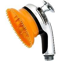 Simo Tech PET Shower Head Massage Bath Clean Brush Tool for Dog Cat Puppy Simo Tech PETシャワーヘッドマッサージバス犬の猫の子犬のためのきれいなブラシツール [並行輸入品]