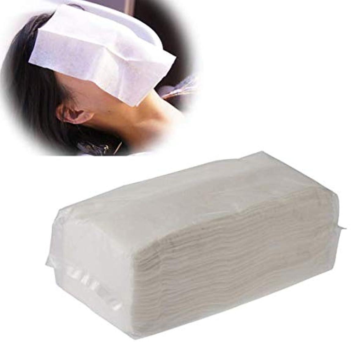 圧倒するお嬢診療所シャンプー用フェイスシート(100枚入り)