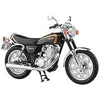 スカイネット 1/12 完成品バイク ヤマハ SR400 ブラックゴールド