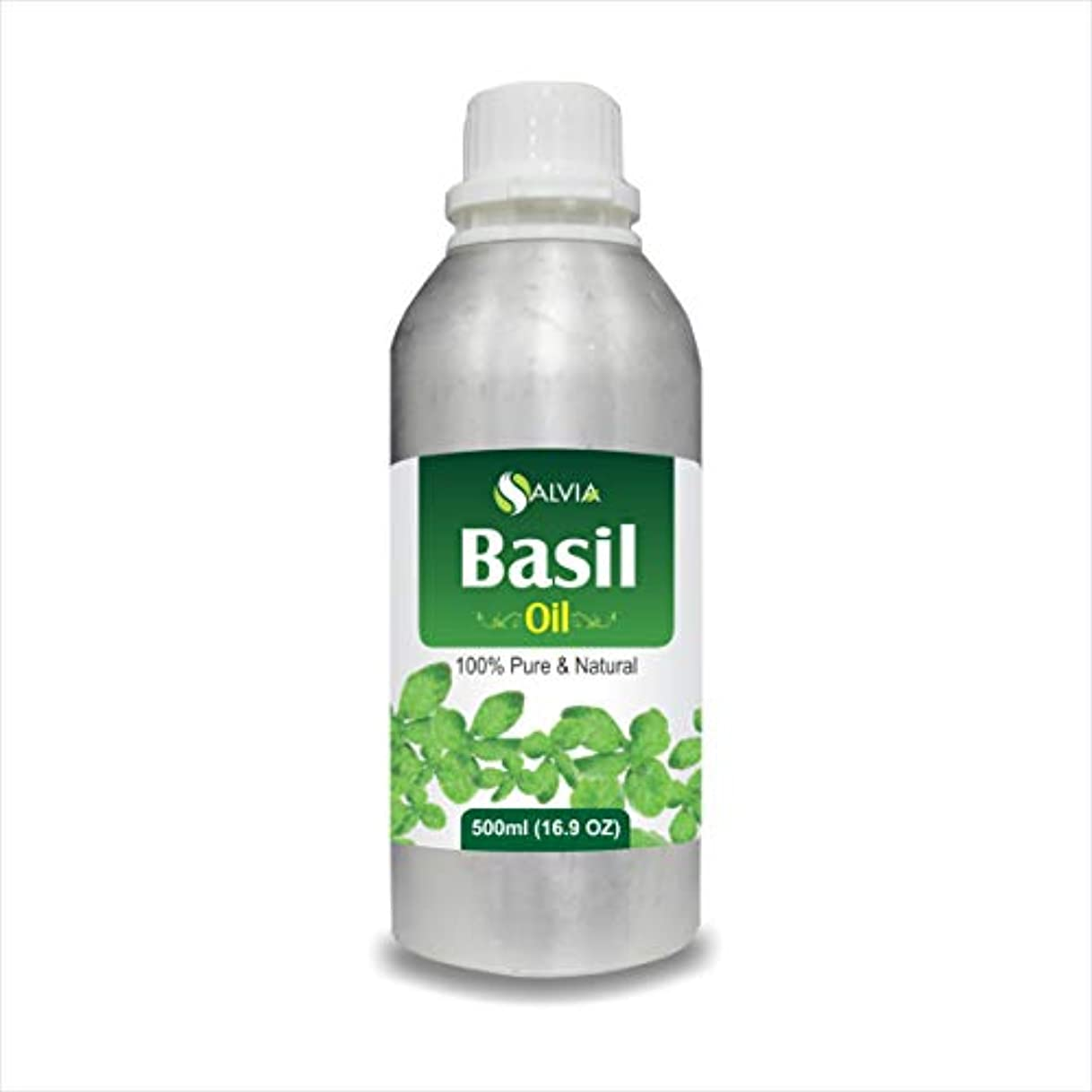 一生軽減書士Basil Oil (Ocimum basilicium) Essential Oil by Salvia (500 ml)